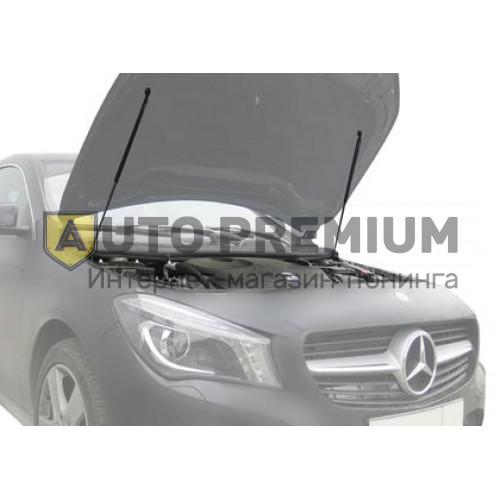 Амортизаторы (упоры) капота «Rival» для Mercedes-Benz CLA-Класс C117, X117 2013-2019