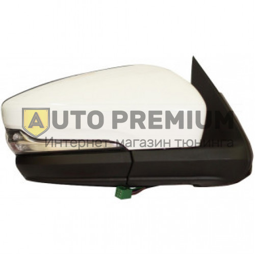 Боковые зеркала стиль Гранта с электроприводом, обогревом, повторителем для Лада Нива 21214, Урбан